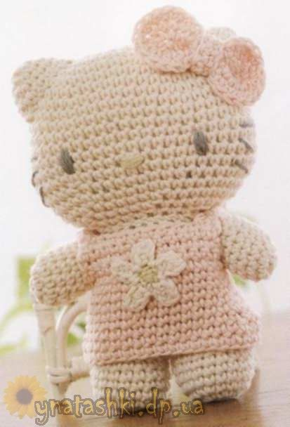 Hello kitty knitted
