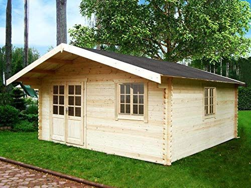Gartenhaus Blockhaus 500cm x 500cm 44 mm Gartenlaube