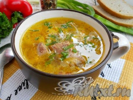 Вкусный суп вермишелью рецепт фото