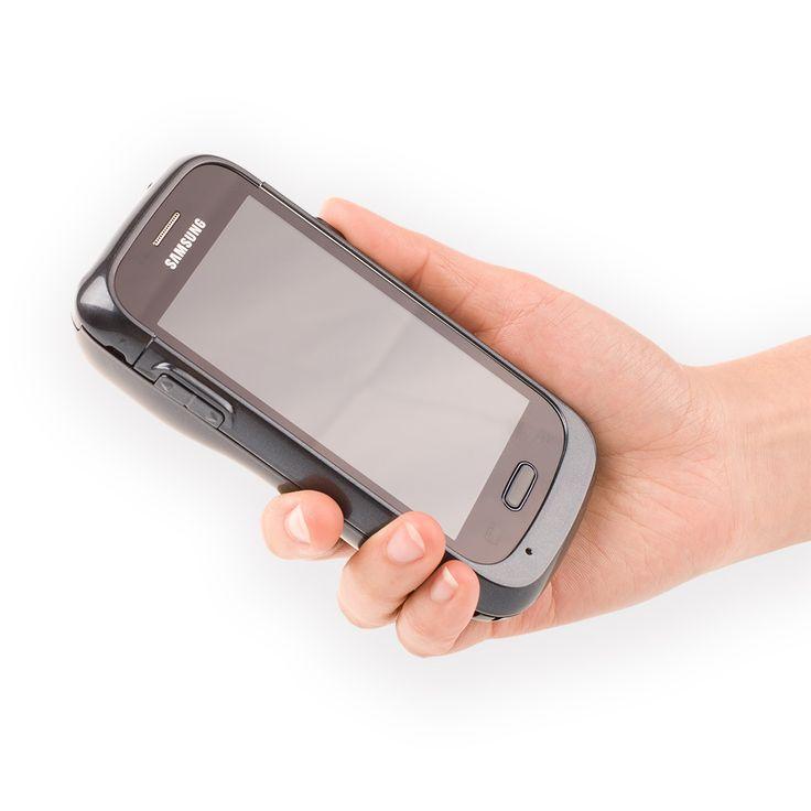 Promotion!!!Black Color Generalscan GS SL2500-S75 2D Imager Stand Power Adamper Android Enterprise Barcode Scanning Sled