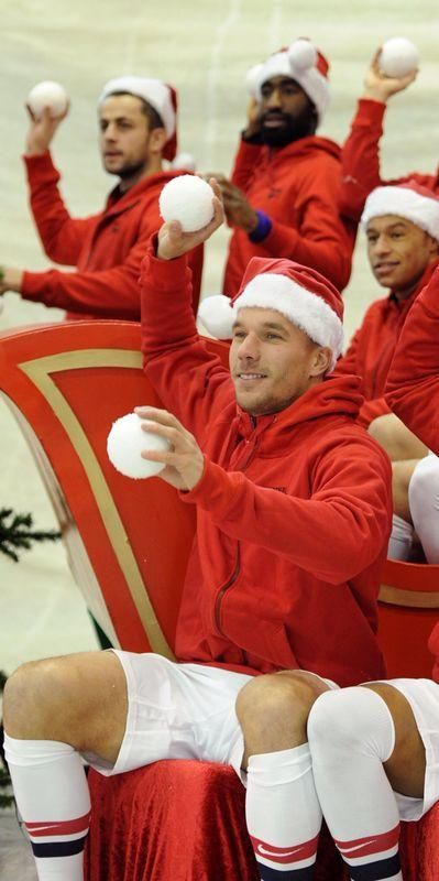It Must Be Christmas at Arsenal.