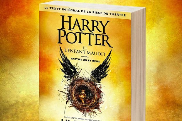 harry potter et l'enfant maudit tome 8 precommande