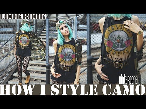 Hello unicornzZz! Today, I'm the camo gal who's walking down the train station with her boots and hat on. She's confident, watchful, playful and quirky. Watc...