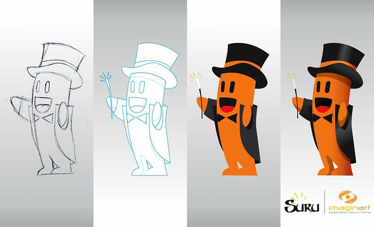 Mascota publicitaria de Imaginart