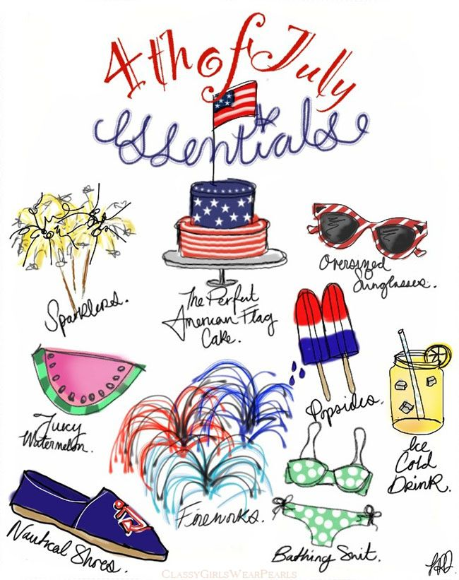 Fourth of July Essentials