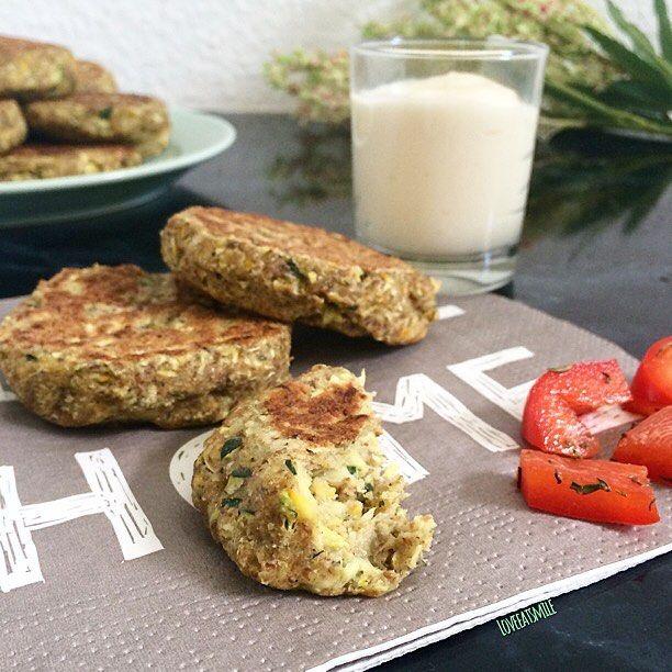 Vegan Zucchini Fritters inspired by my dear Friend Edgar (Instgram: edgarraw)