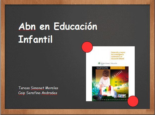 01. Infantil 3 | El blog de ABN del CEIP Serafina Andrades