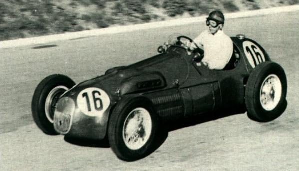 #16 George Abecassis (GB) - HWM 52 (Alta 4) driveshaft / accident (10) HW Motors