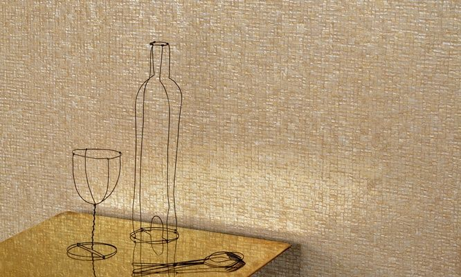Elitis parade nacre glass mosaic solid color vinyl for Solid vinyl wallcovering