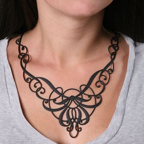 17 best images about art nouveau jewelry inspiration on for Necklace tattoo designs