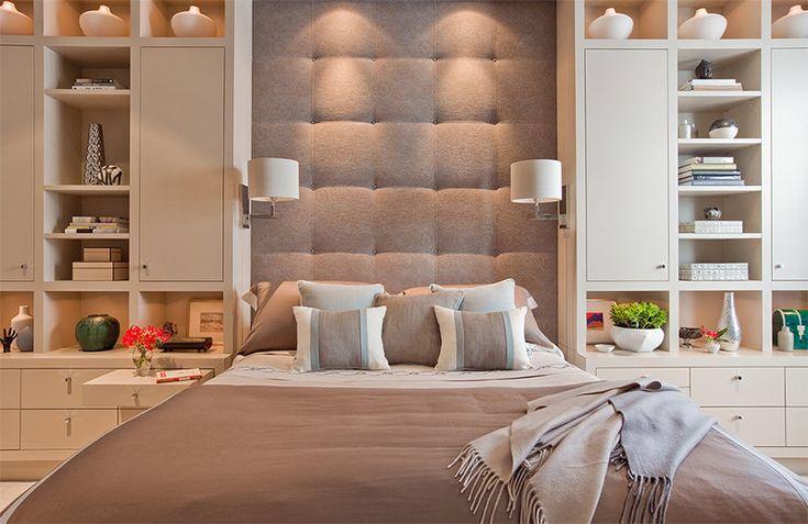 15 cabeceiras de cama estofadas para embelezar qualquer quarto - limaonagua