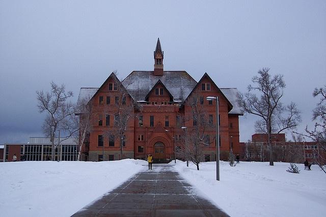 Montana State University Montana Hall :)