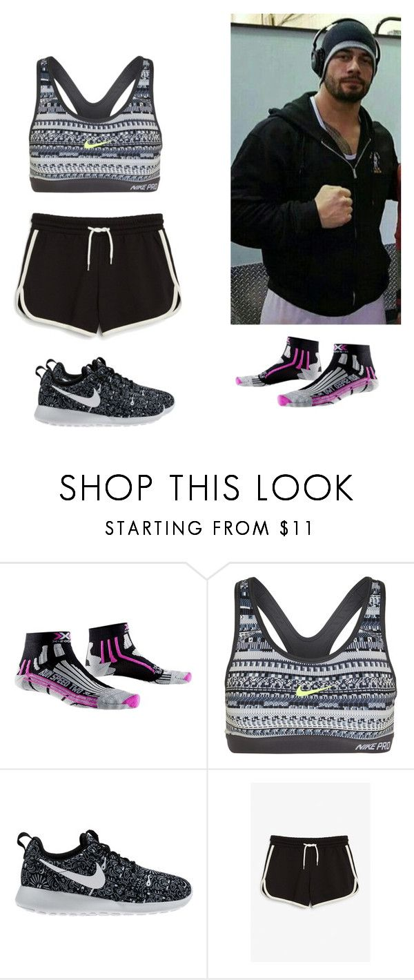 """""""Training With Roman Reigns"""" by ashleighreigns156 ❤ liked on Polyvore featuring X-Bionic, NIKE and Monki"""