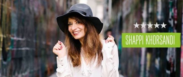 Shappi Khorsandi and Rob Beckett at Bristol's Anson Rooms on Monday 16 March 2015