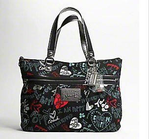 Authentic Coach Poppy Purse Graffiti Glam Tote 16052 Purses In 2018 Pinterest And