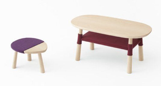 Pooh-table | Design by Nendo http://nykykids.com/pooh-table-design-by-nendo/