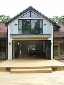 Wyatt Glass - Harmonious Designs for Living and Working   Our Work   Extended Contemporary House in Ightham