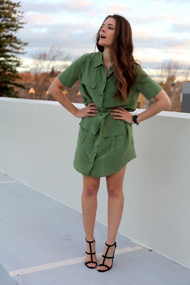 Платье-рубашка (трафик) / Тенденции / Своими руками - выкройки, переделка одежды, декор интерьера своими руками - от ВТОРАЯ УЛИЦА