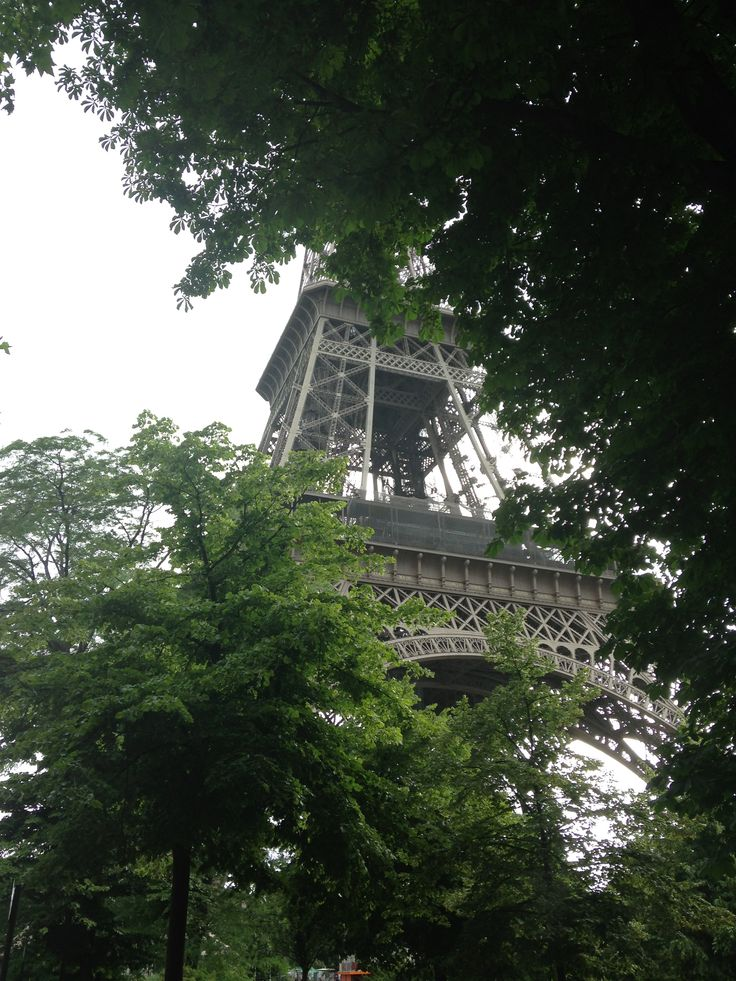 Approaching the Eiffel Tower, June 2013