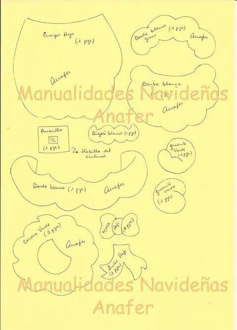 Manualidades Navidenas Anafer, Noel 2/2