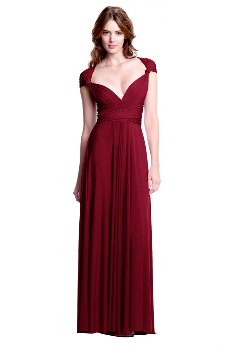 Ruby color dresses for women