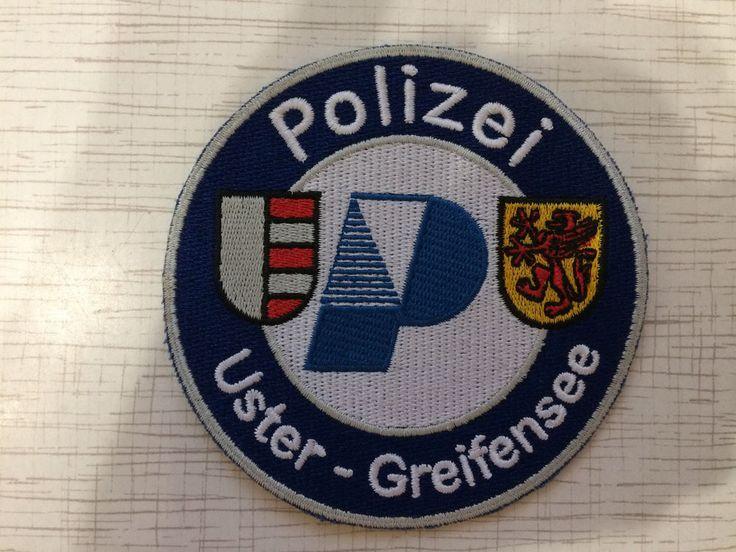 Swiss Police Patch Uster Stadt Polizei Uster-Greifensee Switzerland Super Rarity  | eBay