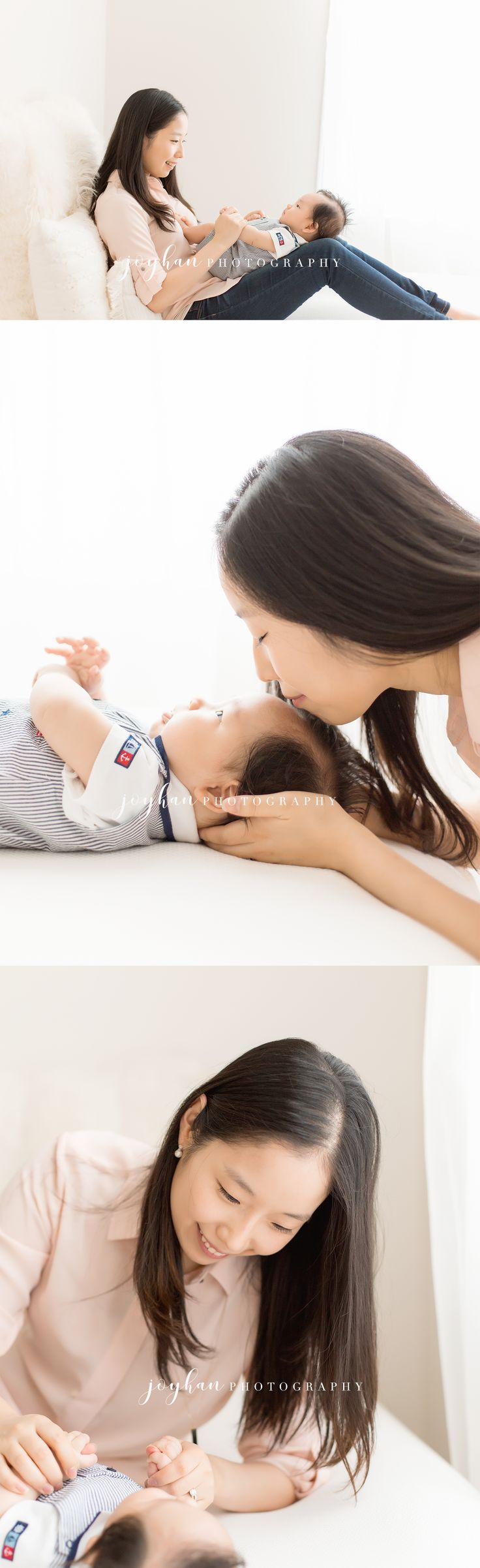 Baby Photography Posing Ideas for boy | Baby Photographer | Northern VA Baby Photographer | 100days Baby Photos | 3 month old Baby Photos | DC Photographer | 백일 | 백일사진 | Joy Han Photography |