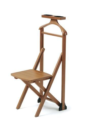valet de nuit chaise duka - Valet Chaise Bois