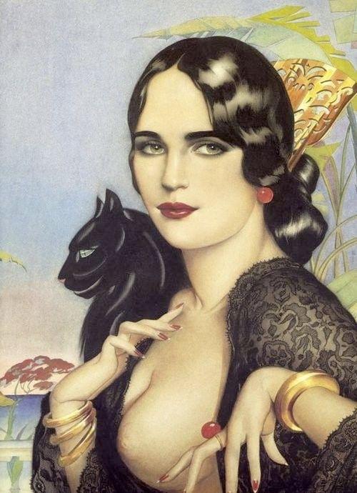 Alberto Vargas, Spanish Gypsy, 1928.
