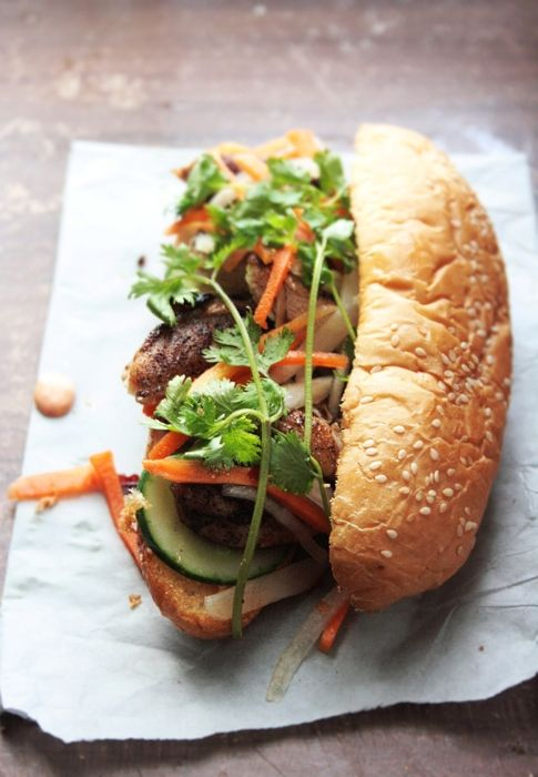 a Tumblr blog I follow, this is her entire recipe collection page. Pictured above is the Home made Banh-mi sandwich!