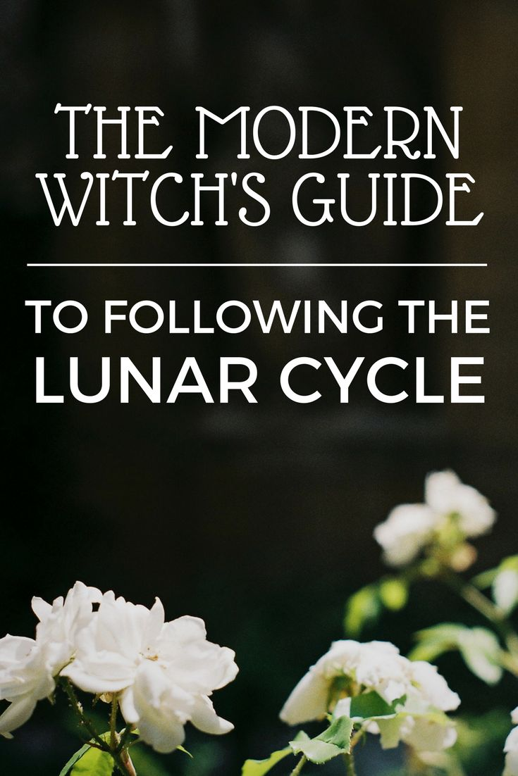 The Modern Witch's Guide to Following the Lunar Cycle - an online course to help you connect with the moon! Learn about moon phases, moon signs, moon mansions, making magick with the moon, divination and how to create your own custom moon rituals.