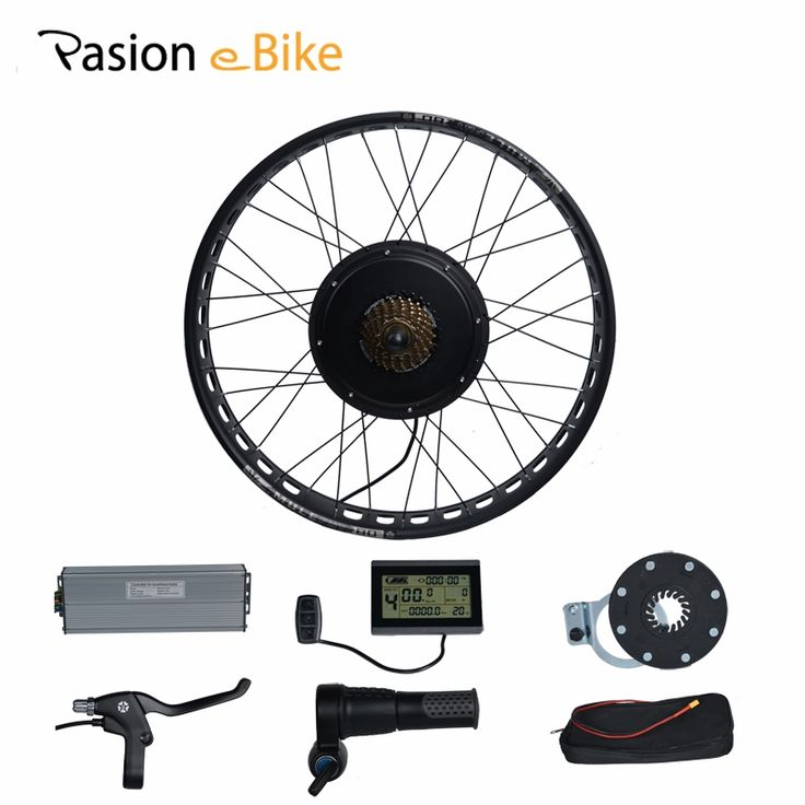"""447.51$  Buy here - PASION E BIKE 48V 1500W Electric Bicycle Fat Bikes Conversion Kit 26"""" Wheel Motor For 190mm Hub Motor DIY Color   #shopstyle"""