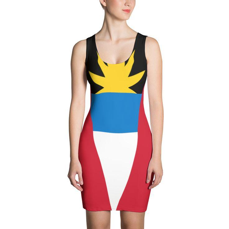 BRAYOX - Antigua Flag Dress (only 1,000 available)