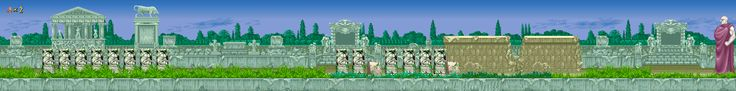 Caz Arcade Games Maps : Altered Beast Level 1 Map