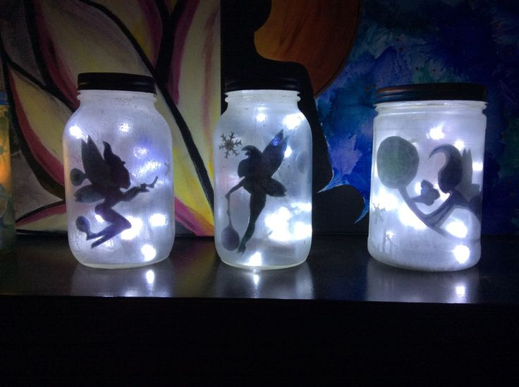 A personal favorite from my Etsy shop https://www.etsy.com/ca/listing/478653668/fairy-jar-light-glittery-and-tink