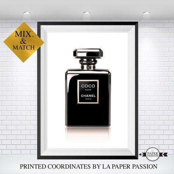 Chanel Chanel poster afdrukken van Chanel door LaPaperPassionPrints