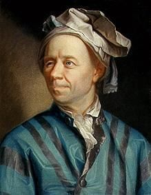Leonhard Euler. Straight up genius.  One of the smartest men ever.  We owe our modern calculus nomenclature to him.