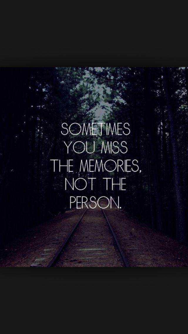 Memories can be rose tinted ...