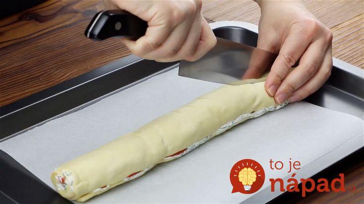Zabudnite na obyčajnú roládu: Pozrite sa, čo z nej môžete vytvoriť, keď ju rozkrojíte na polovicu!
