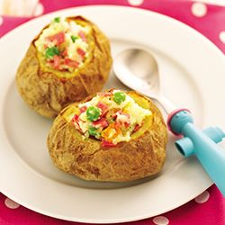 Gepofte aardappelen uit de Airfryer   Philips
