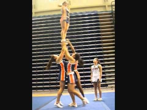 UTSA All-Girl: Group Stunt Bid Tape 2011 - YouTube