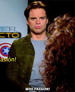 Interviewer: How would play your role differently in the Spanish version? Sebastian: With Passion!