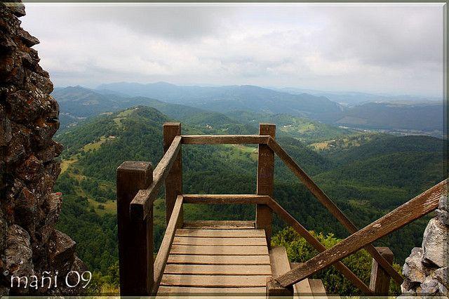 https://flic.kr/p/6VmWeu | Vistas desde el castillo de Montsegur | Vistas desde lo alto del emblemático castillo de Montsegur, Francia.