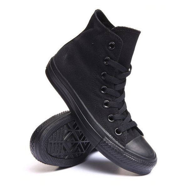 chuck taylor all star core hi sneakers by Converse ($60) ❤ liked on Polyvore featuring shoes, sneakers, star sneakers, converse footwear, converse trainers, star shoes and converse sneakers