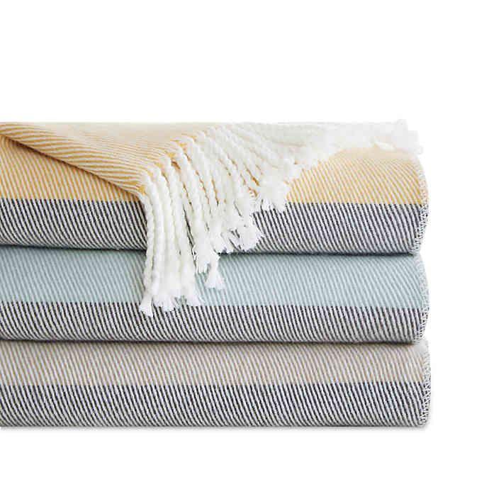 Urban Habitat Lexi Throw Blanket Solid Throw Blanket Bed Throw