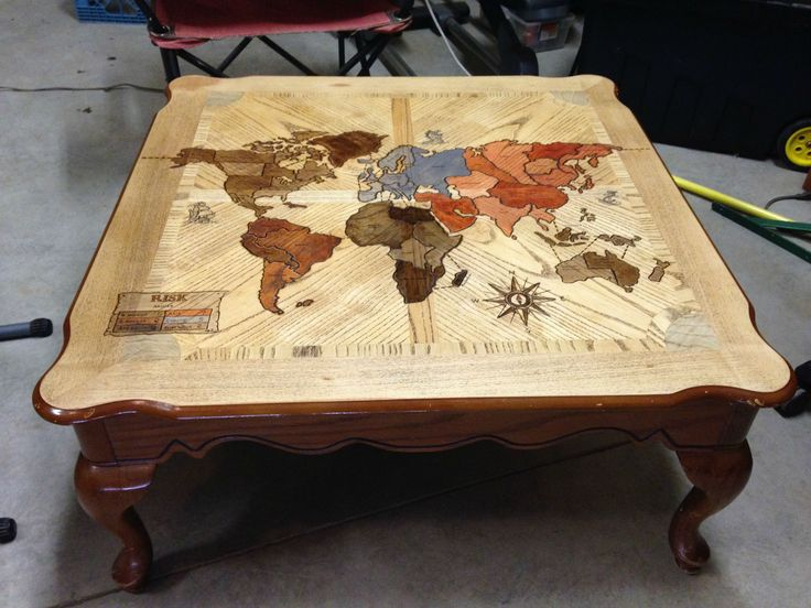 Risk Coffee Table - use round table - which projection?
