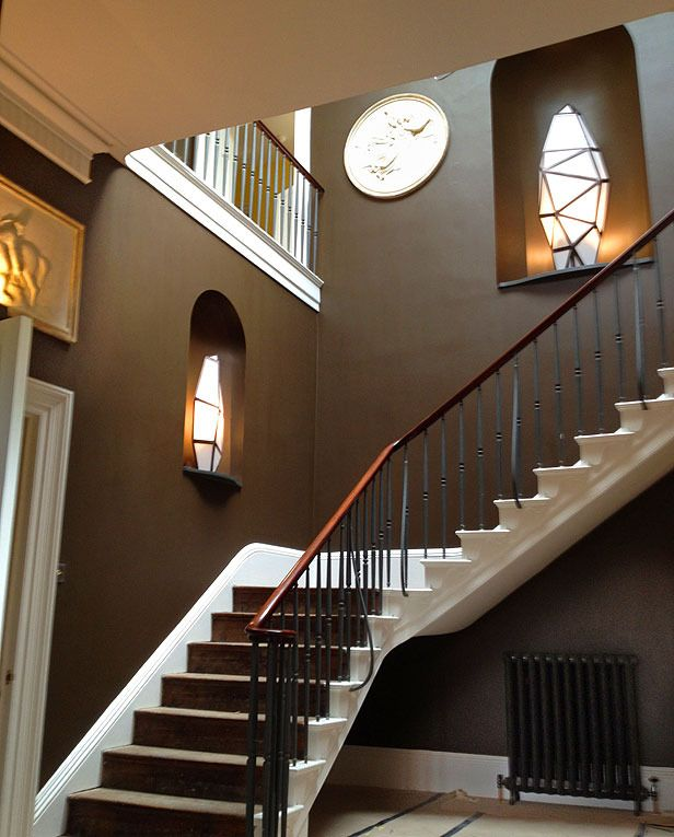 Beautiful Front Hall And Staircase: Entry Hall, Stairs And Foyer Images