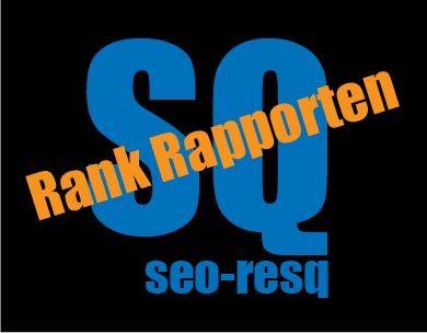 SEO Rank Rapporten door seo-resq.