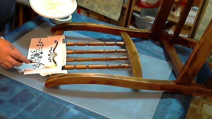 мастер-класс по реставрации стула