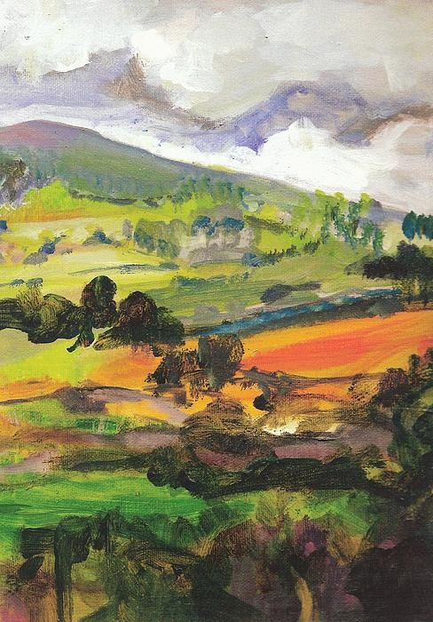 Great Painting Of The Irish Countryside By Fiona Finlay